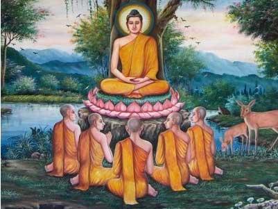 mrholmes / Emma-Ben-Indian Buddhist monk practices and beliefs